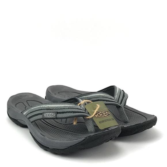 965c67690f06 KEEN Women Kona Flip Steel Gray Sandal Size 9